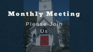 Monthly General Meeting @ St. Phillip's Episcopal | Charles Town | West Virginia | United States