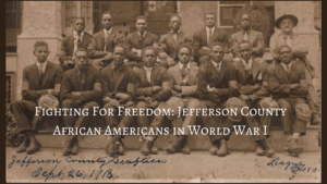 Fighting for Freedom: Jefferson County African Americans in World War I The James Alvin Tolbert Memorial Conference @ Byrd Center  | Shepherdstown | West Virginia | United States