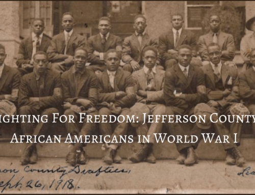 "The James Alvin Tolbert Memorial Conference  ""Fighting for Freedom: Jefferson County African Americans in World War I"""